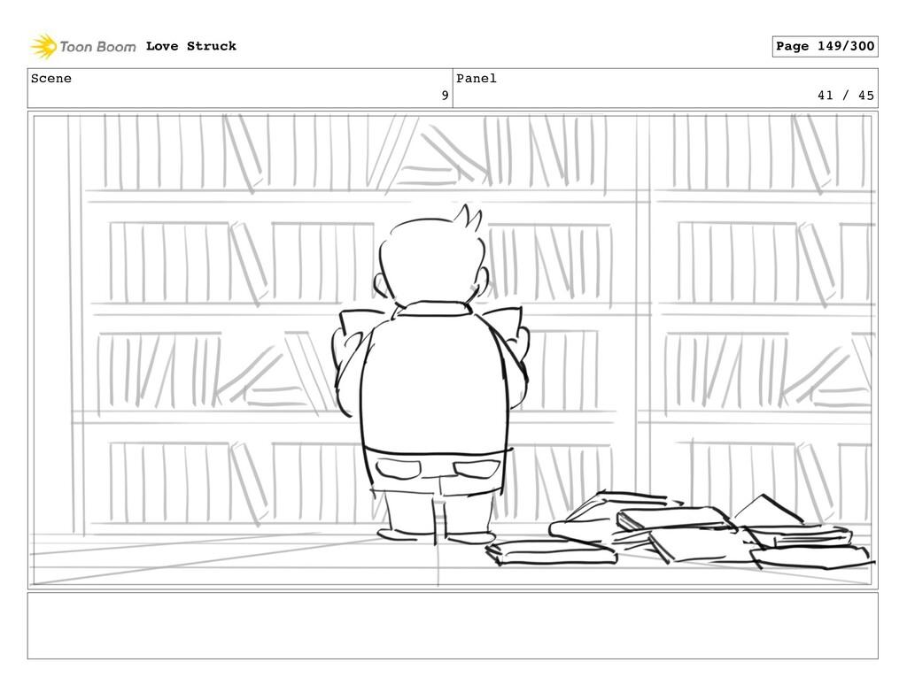 Scene 9 Panel 41 / 45 Love Struck Page 149/300
