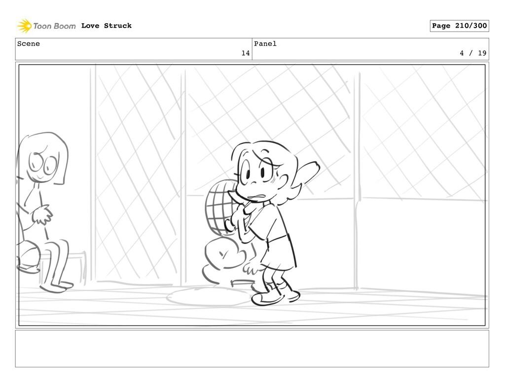 Scene 14 Panel 4 / 19 Love Struck Page 210/300