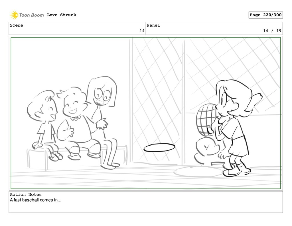 Scene 14 Panel 14 / 19 Action Notes A fast base...