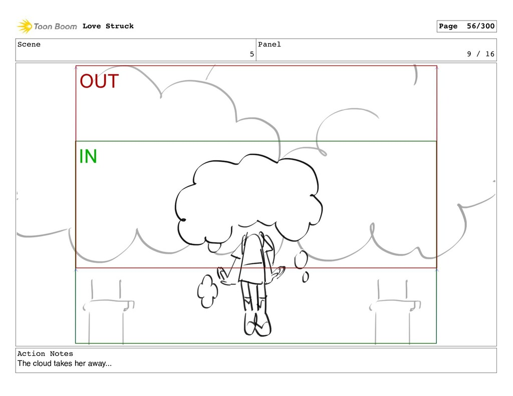 Scene 5 Panel 9 / 16 Action Notes The cloud tak...