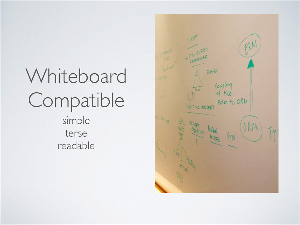 Whiteboard Compatible simple	 