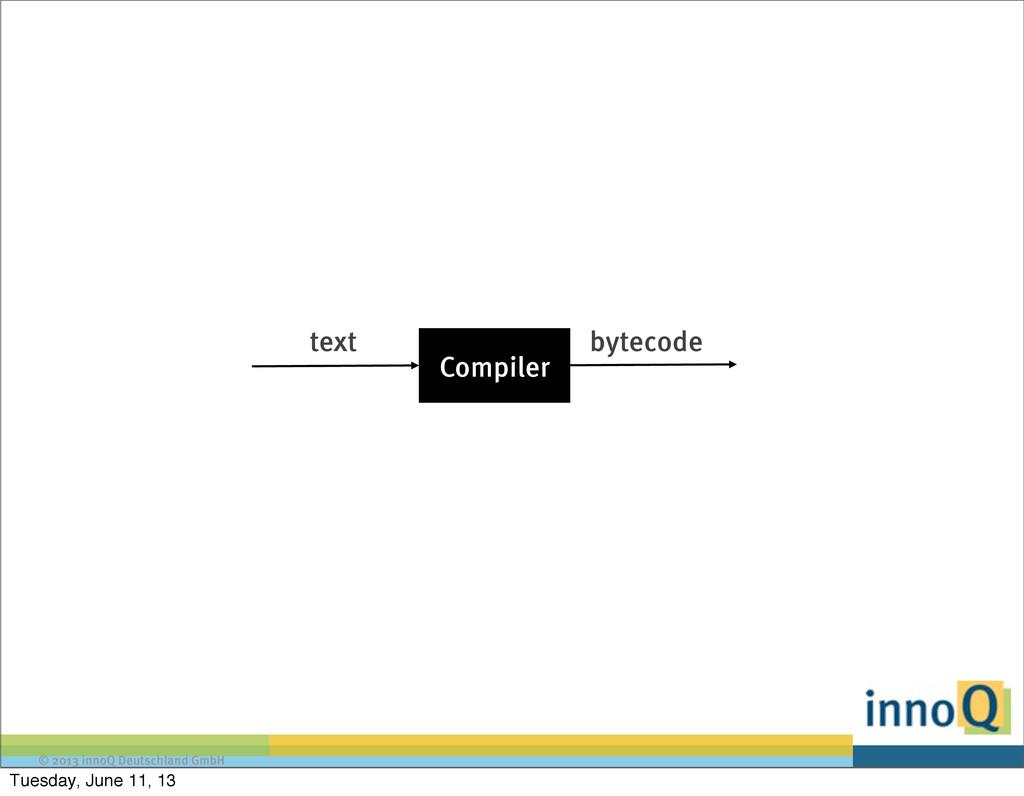 © 2013 innoQ Deutschland GmbH text Compiler byt...