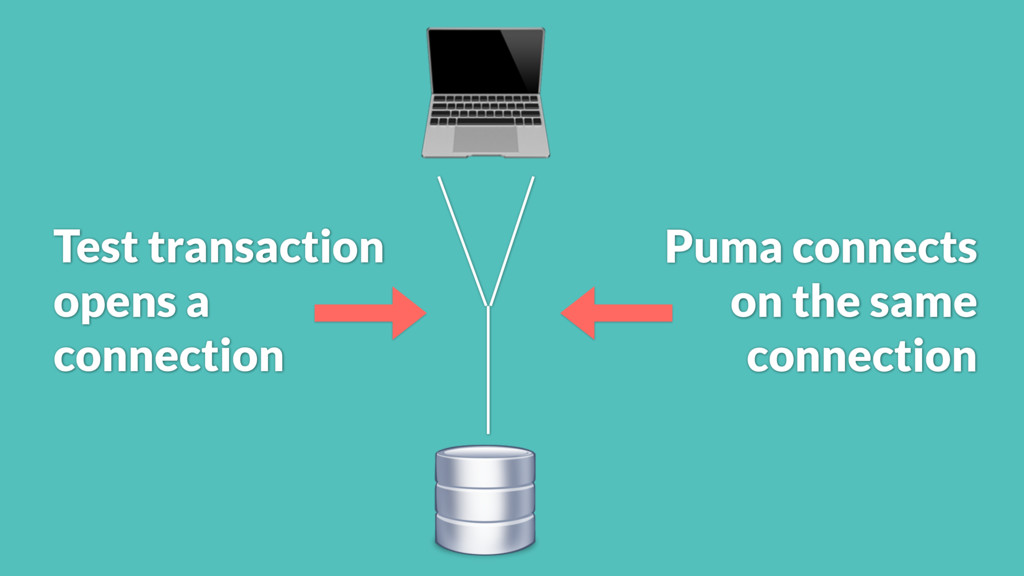Puma connects on the same connection Test tran...