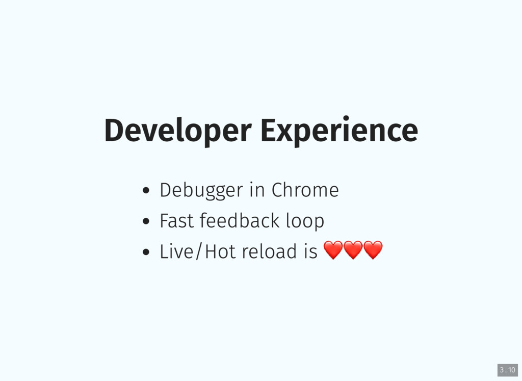 Developer Experience Debugger in Chrome Fast fe...