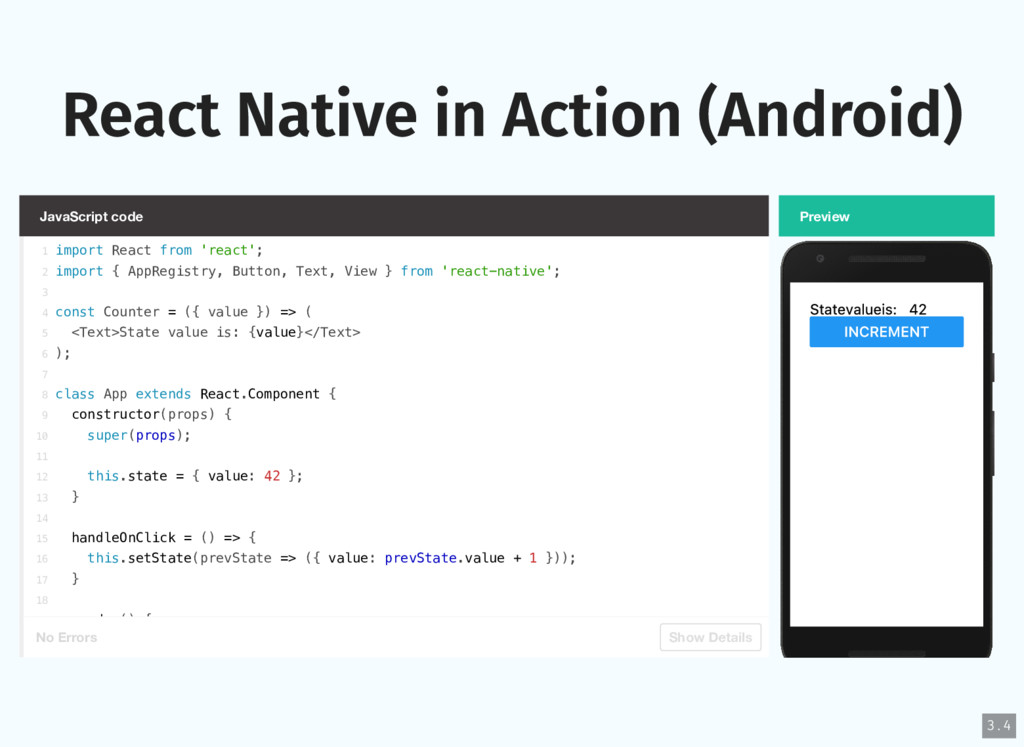 React Native in Action (Android) JavaScript cod...