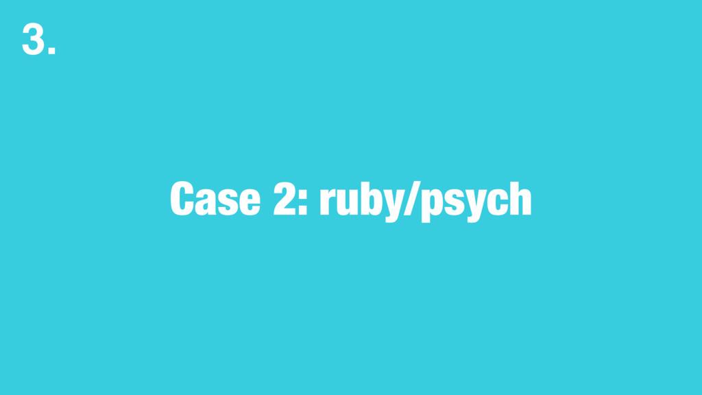 Case 2: ruby/psych 3.