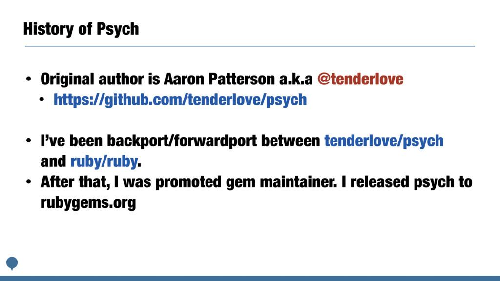 History of Psych • Original author is Aaron Pat...