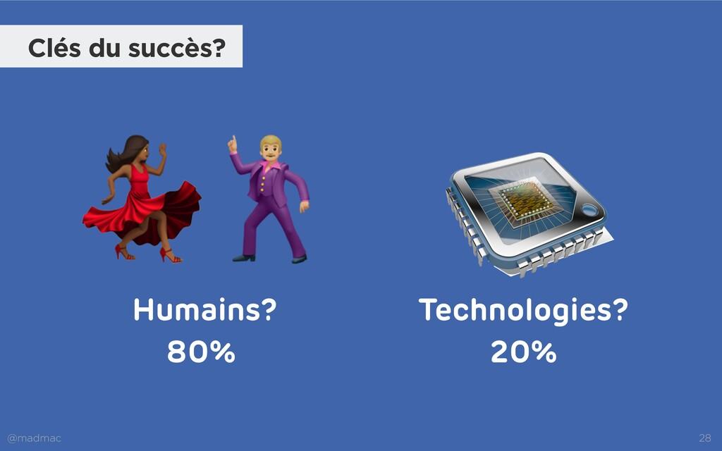 @madmac 28 Technologies? Humains? 💃🕺 Clés du su...
