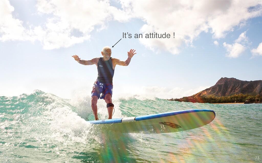 @madmac 73 It's an attitude ! @madmac
