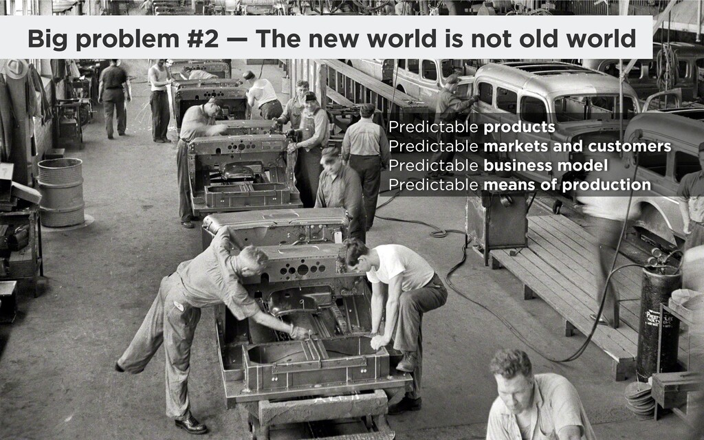 @madmac Big problem #2 — The new world is not o...
