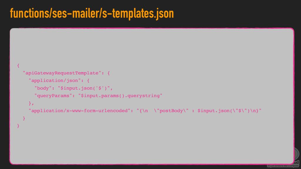 "functions/ses-mailer/s-templates.json { ""apiGat..."