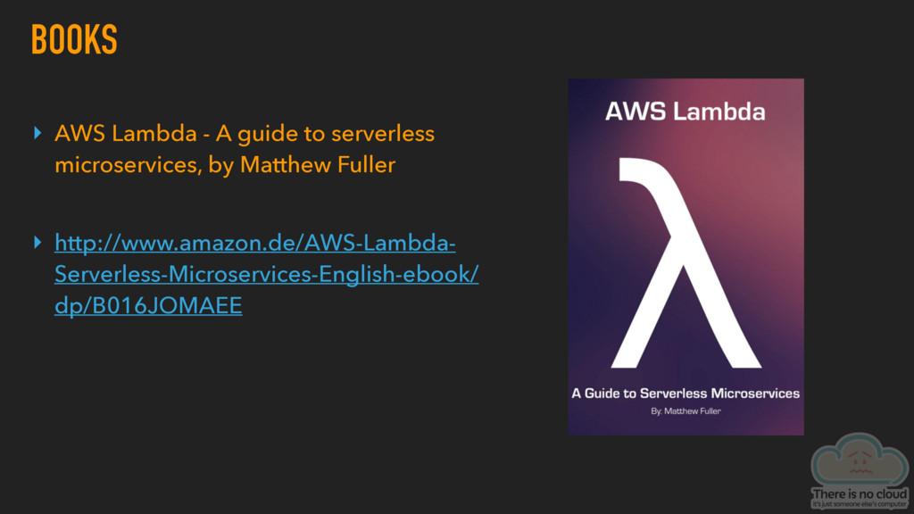 BOOKS ▸ AWS Lambda - A guide to serverless micr...