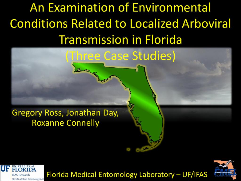 An Examination of Environmental Conditions Rela...
