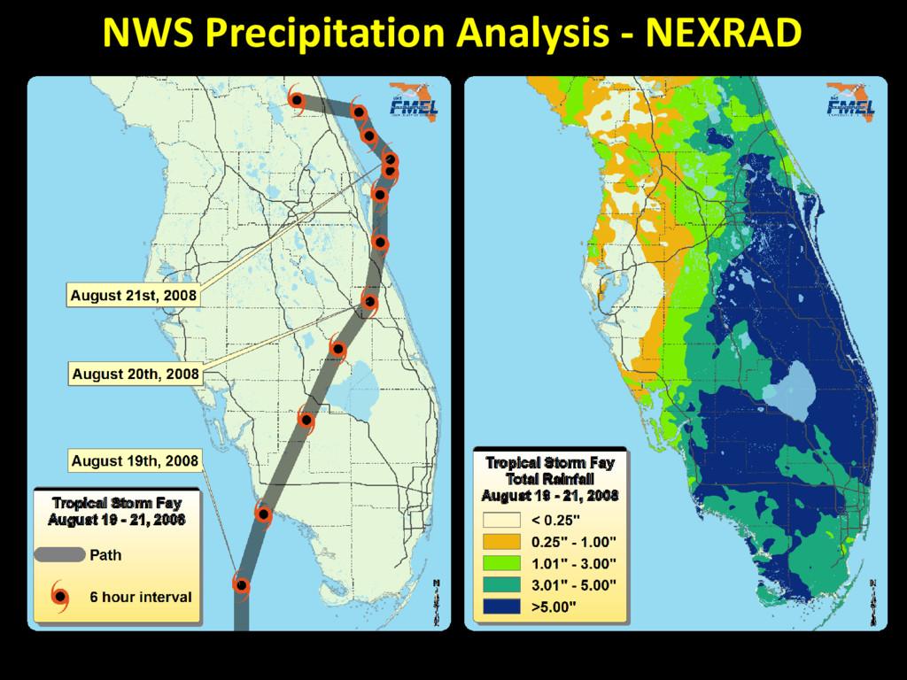 NWS Precipitation Analysis - NEXRAD