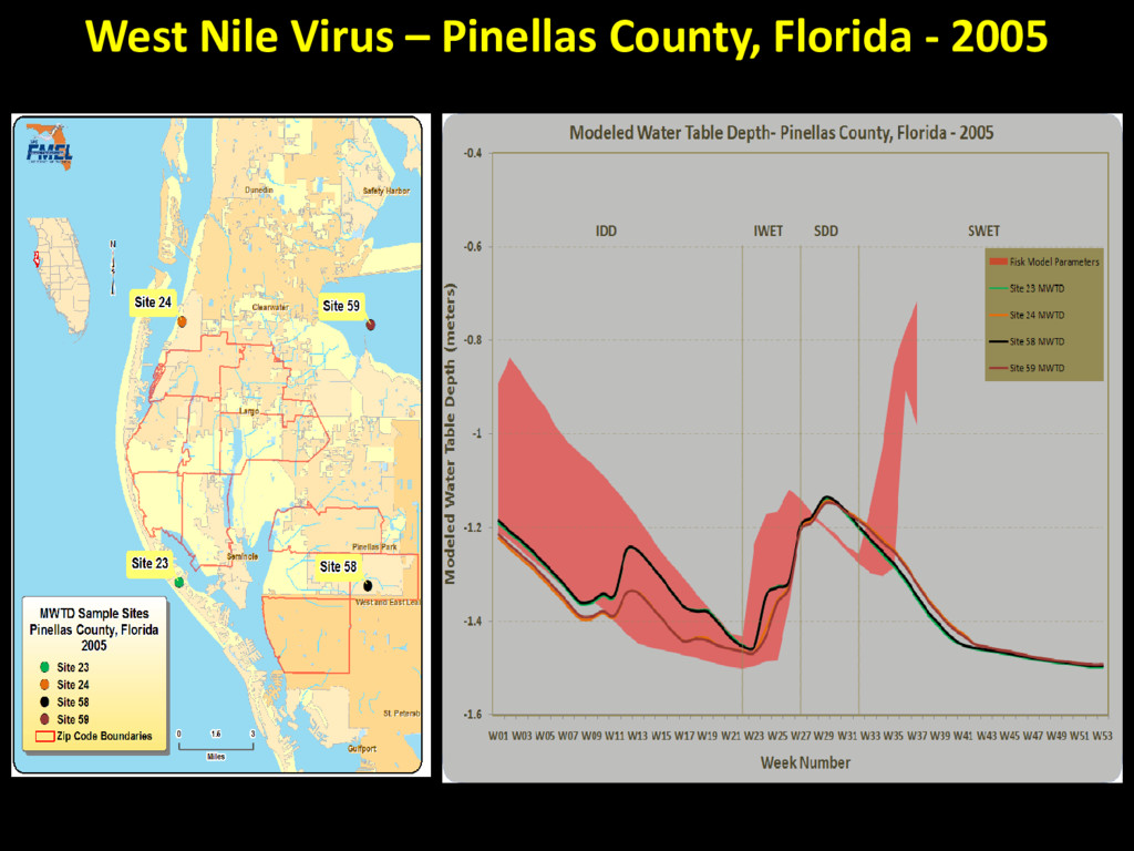 West Nile Virus – Pinellas County, Florida - 20...
