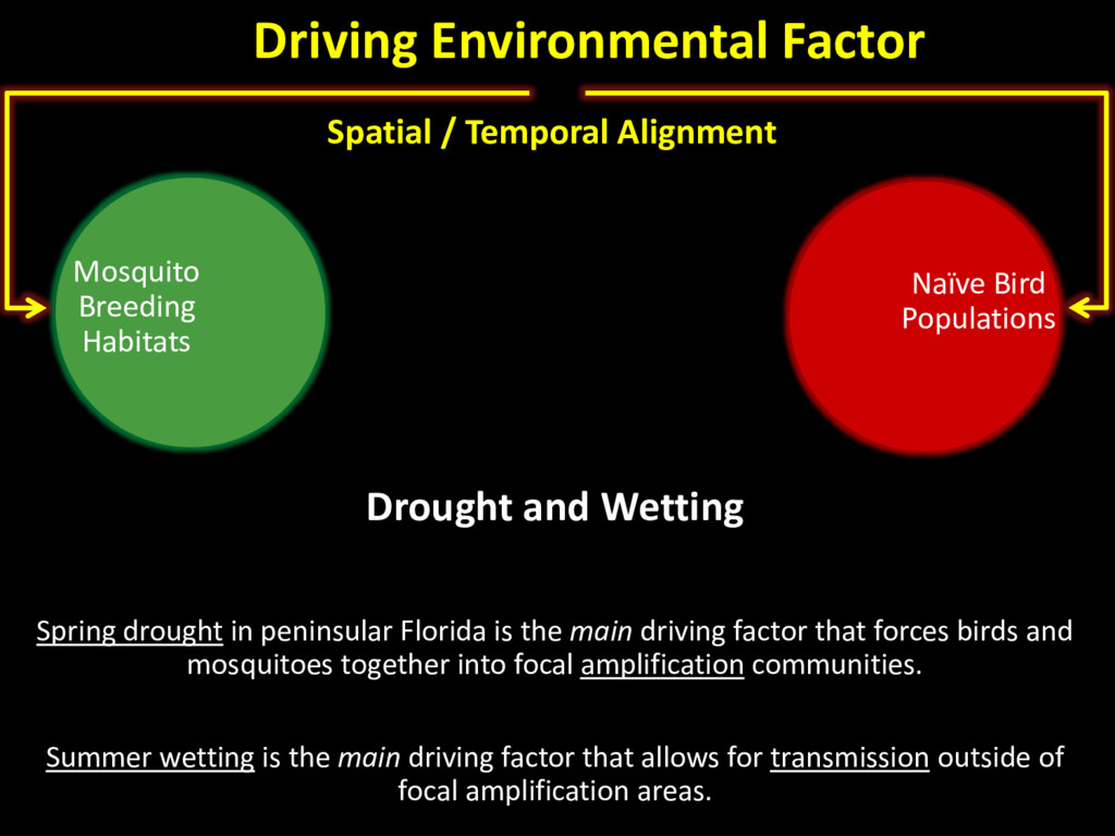 Spatial / Temporal Alignment Drought and Wettin...