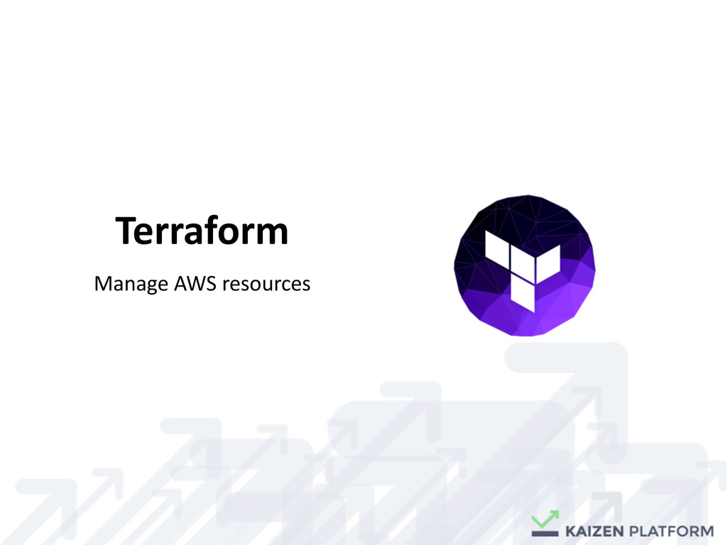 Terraform Manage	