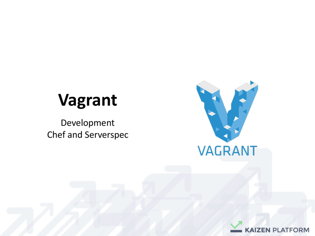 Vagrant Development	