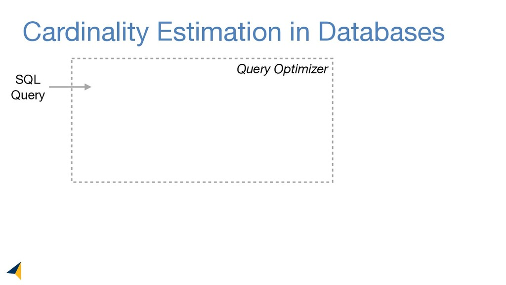 Cardinality Estimation in Databases SQL  Query ...