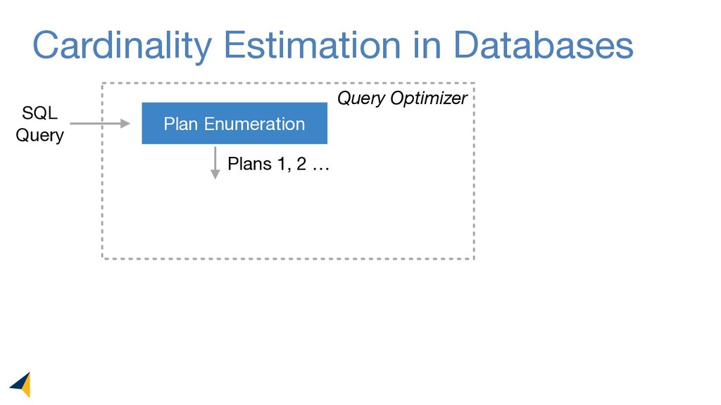 Cardinality Estimation in Databases Plan Enumer...