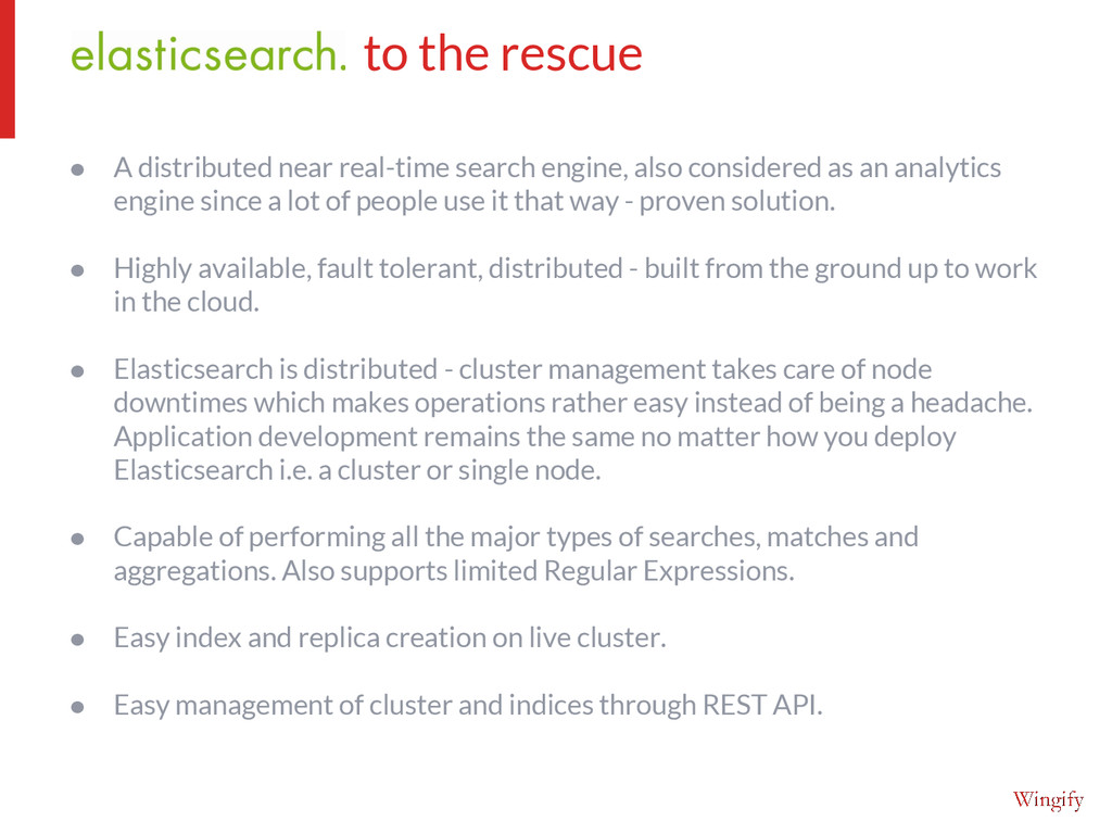 ● A distributed near real-time search engine, a...