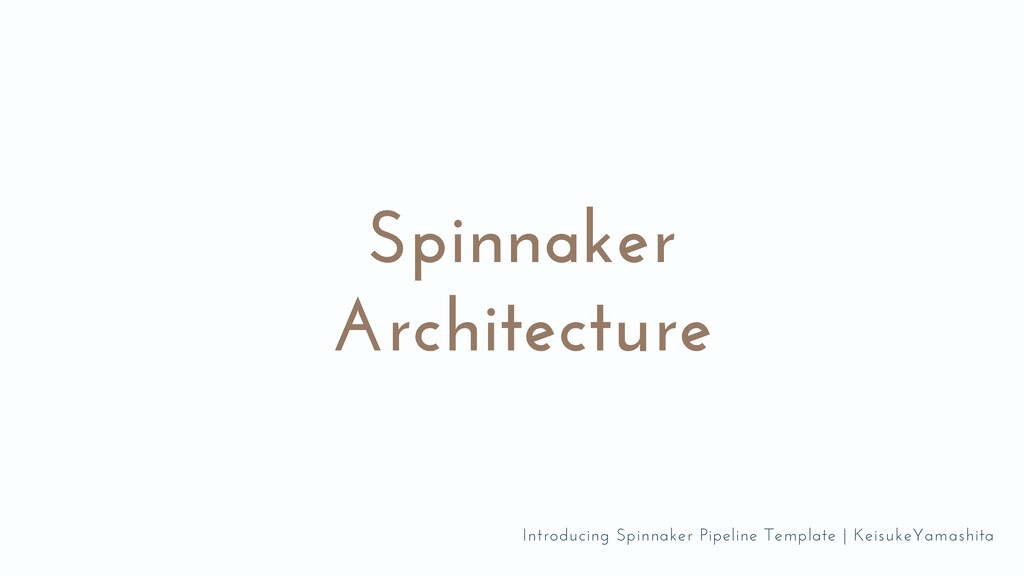 Spinnaker Architecture Introducing Spinnaker Pi...