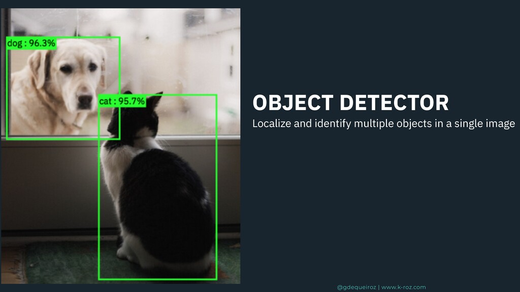 OBJECT DETECTOR Localize and identify multiple ...