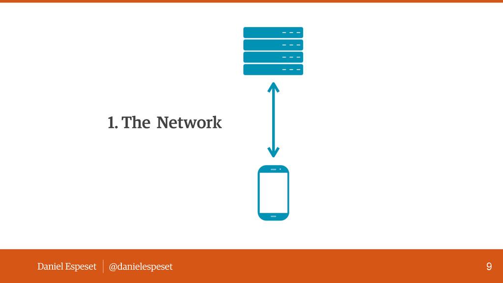 Daniel Espeset @danielespeset 9 1. The Network