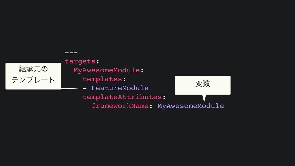 -- -  targets :  MyAwesomeModule :  templates :...