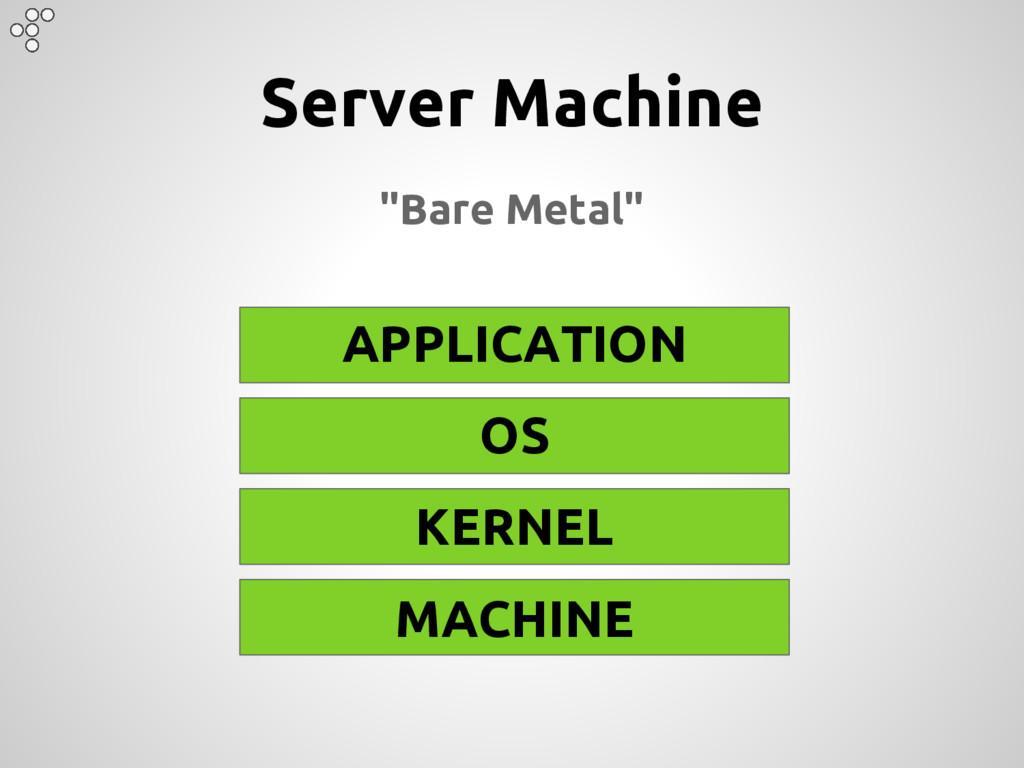 "APPLICATION OS KERNEL MACHINE Server Machine ""B..."