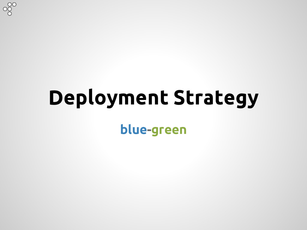Deployment Strategy blue-green