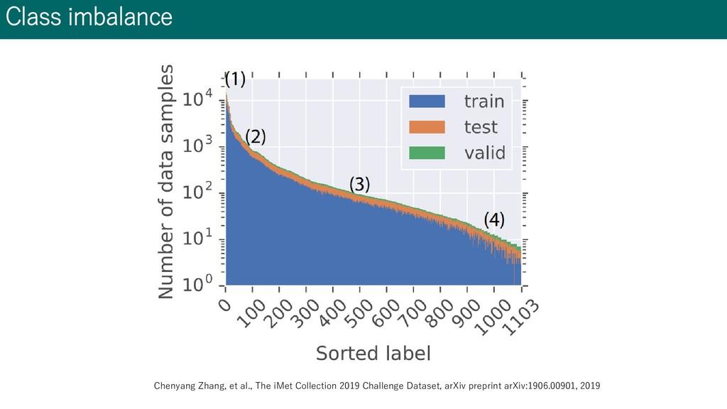 Class imbalance Chenyang Zhang, et al., The iMe...