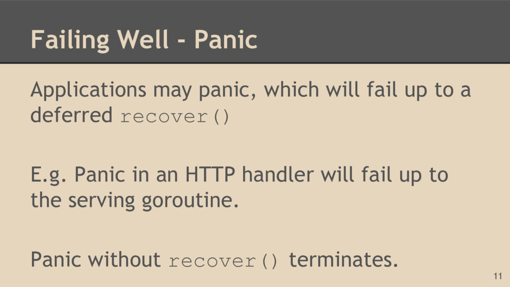 Failing Well - Panic Applications may panic, wh...