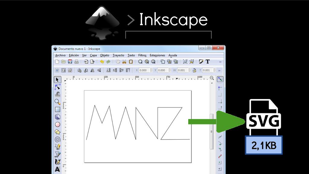 > Inkscape 2,1KB