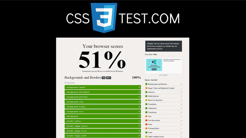 CSS TEST.COM