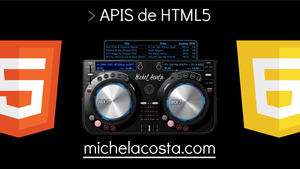 michelacosta.com > APIS de HTML5