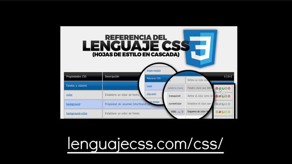 lenguajecss.com/css/
