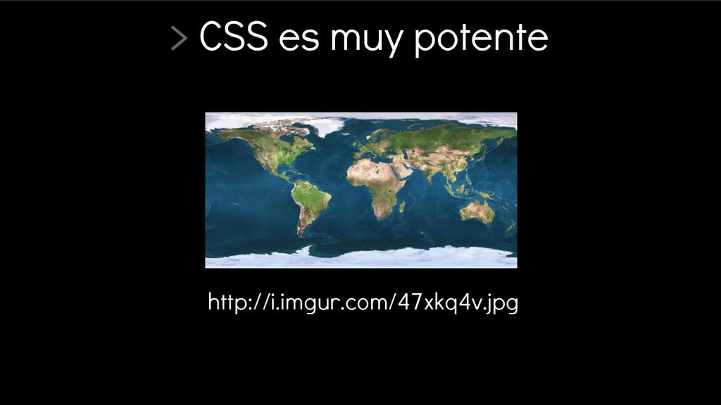 > CSS es muy potente http://i.imgur.com/47xkq4v...