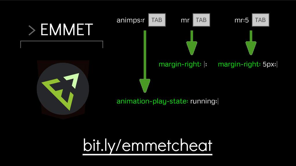 > EMMET animps:r bit.ly/emmetcheat animation-pl...