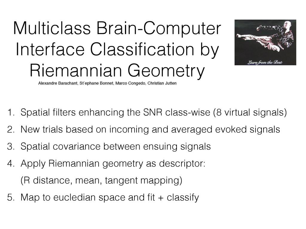Multiclass Brain-Computer Interface Classificati...