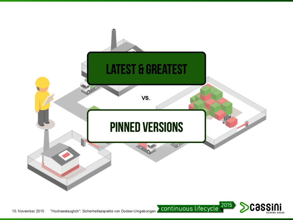 Latest & Greatest Pinned Versions vs. 10. Novem...