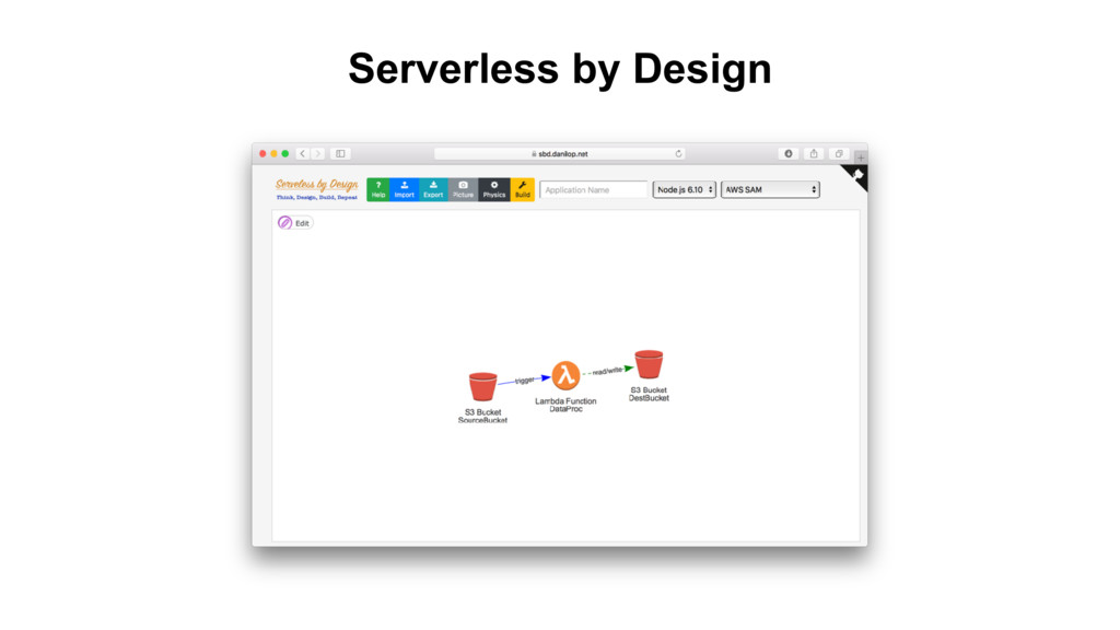 Serverless by Design