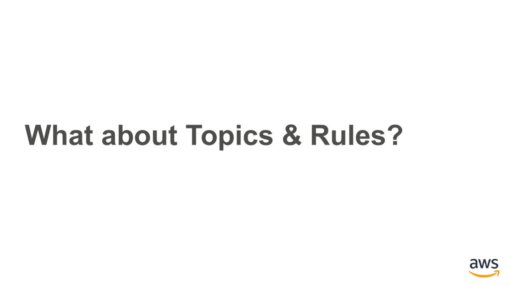 What about Topics & Rules?