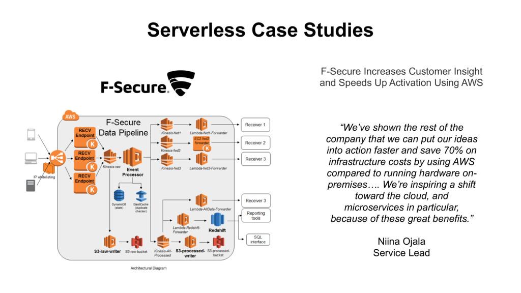 Serverless Case Studies F-Secure Increases Cust...