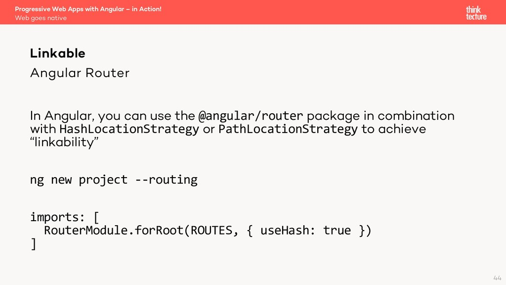 Angular Router In Angular, you can use the @ang...