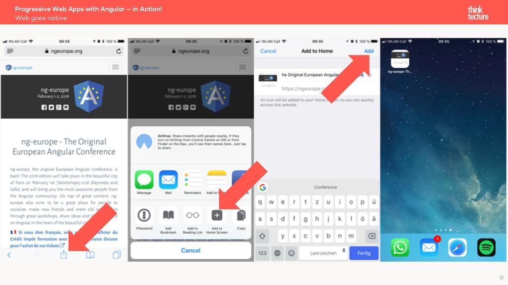 Web goes native Progressive Web Apps with Angul...
