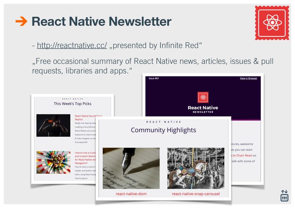 React Native Newsletter - http://reactnative.cc...