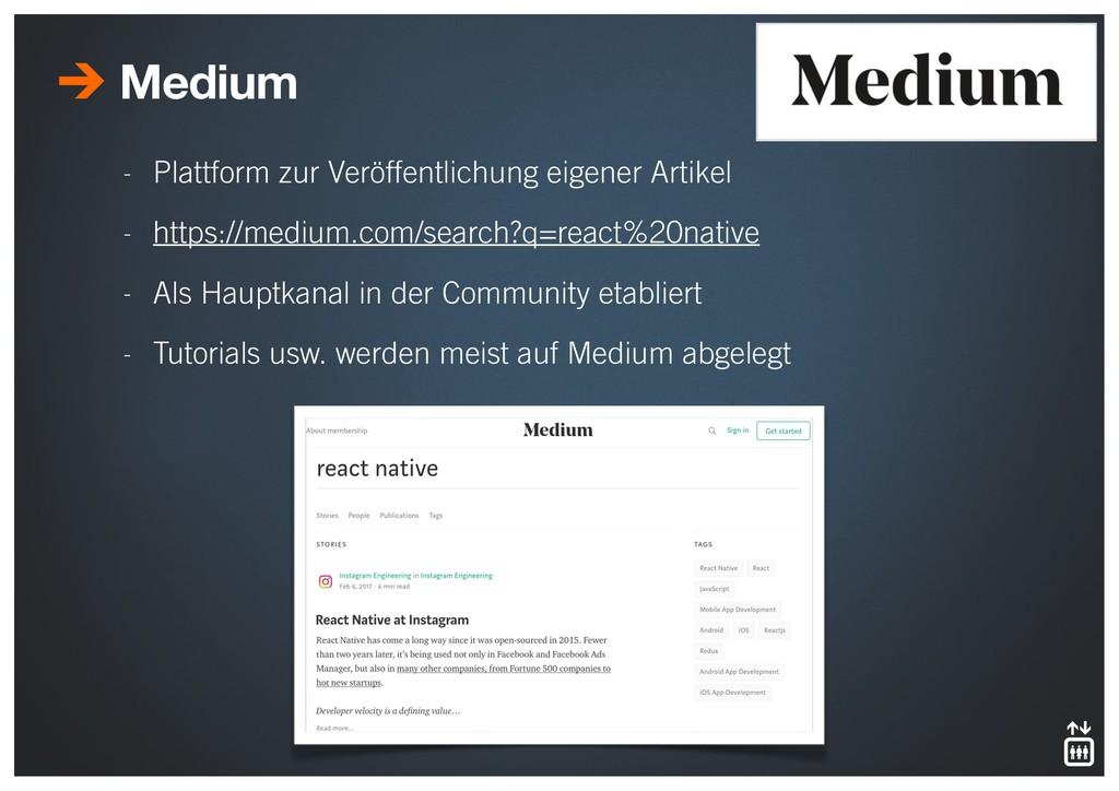- Plattform zur Veröffentlichung eigener Artike...
