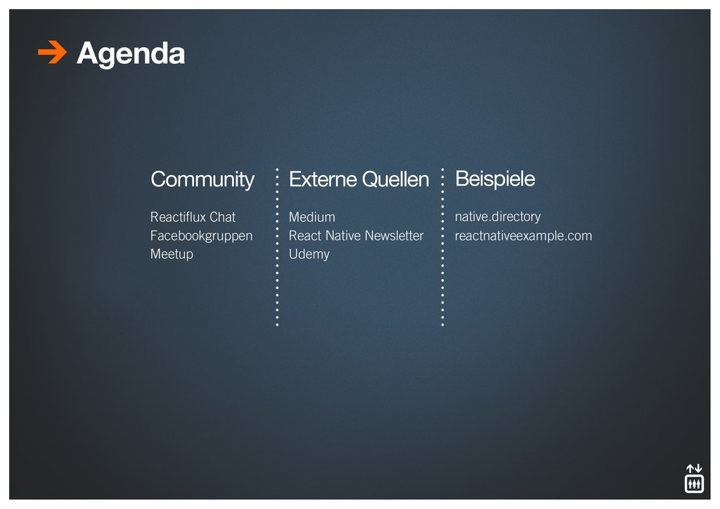 Agenda Reactiflux Chat Facebookgruppen Meetup C...