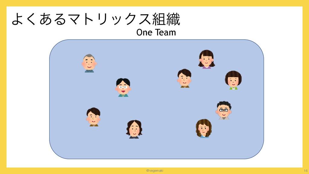 @vegemaki Α͋͘ΔϚτϦοΫε৫ 16 One Team